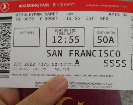 sfo-thy-bilet