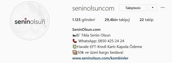 instagram-biyografi