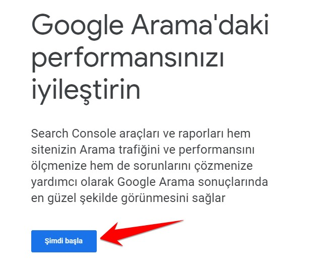 google-sc-site-ekleme