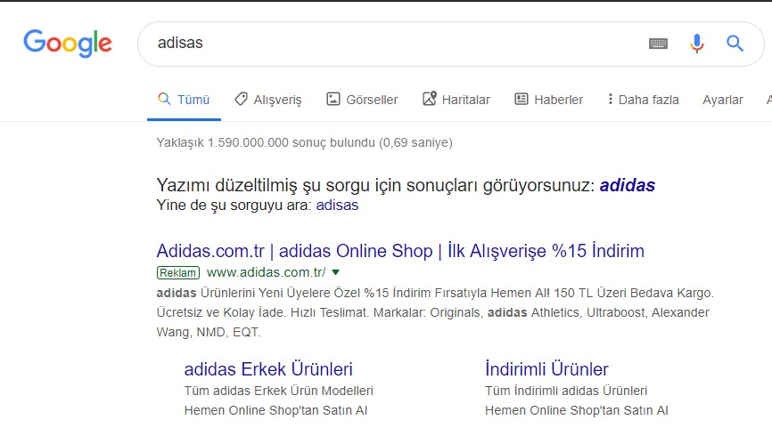 google-yazim-duzeltme